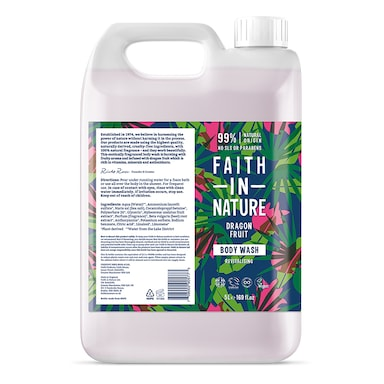 Faith in Nature Dragon Fruit Body Wash 5L