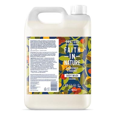 Faith in Nature - Grapefruit & Orange Body Wash 5L