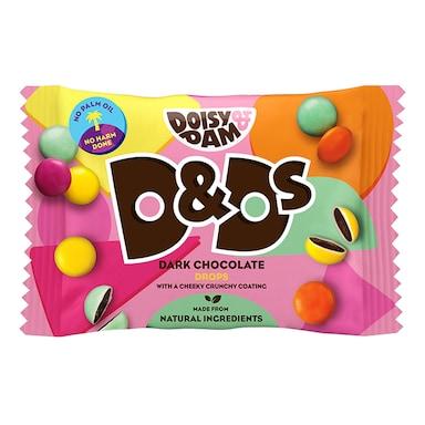 Doisy & Dam D&Ds Vegan Dark Chocolate Drops 30g