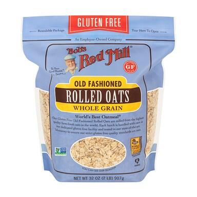 Bobs Red Mill Gluten Free Regular Rolled Oats 907g