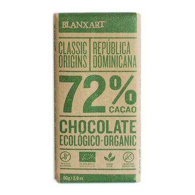Blanxart Organic Dominica Dark 72% Chocolate 80g