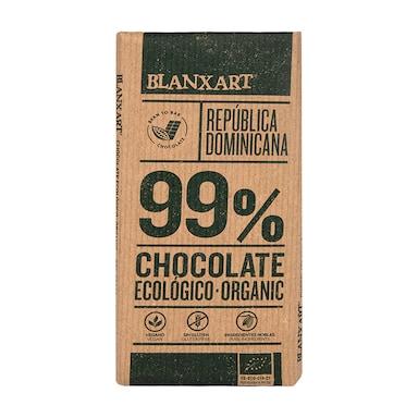 Blanxart Organic Dominica Dark 99% Chocolate 80g