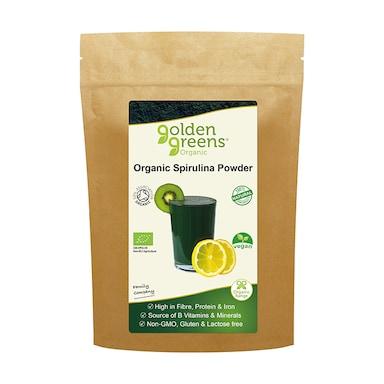 Golden Greens Organic Spirulina Powder 100g