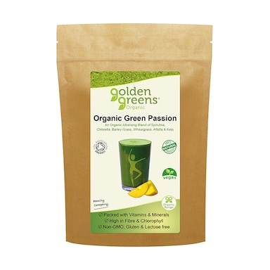 Golden Greens Organic Green Passion Powder 90g