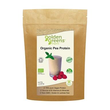Golden Greens Organic Pea Protein Powder 250g