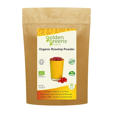 Golden Greens Organic Rosehip Powder 200g