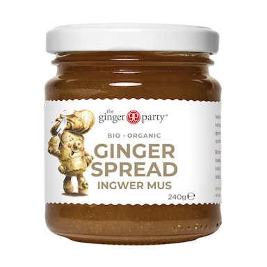 Ginger Party Organic Ginger Spread 240g