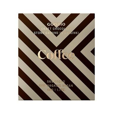 Goodio Raw Chocolate 56% - Coffee 48g