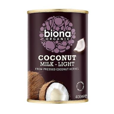 Biona Coconut Milk - Organic Light (9%) 400ml