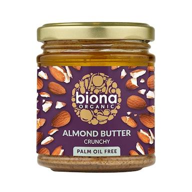 Biona Crunchy Organic Almond Butter 170g