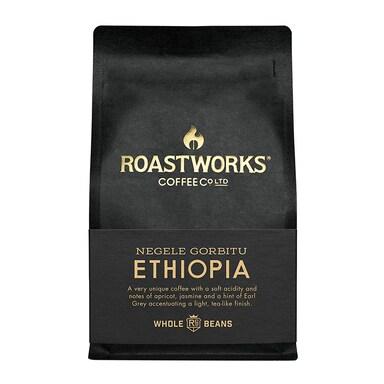 Roastworks Coffee Co Ltd. Ethiopia Whole Beans 200g