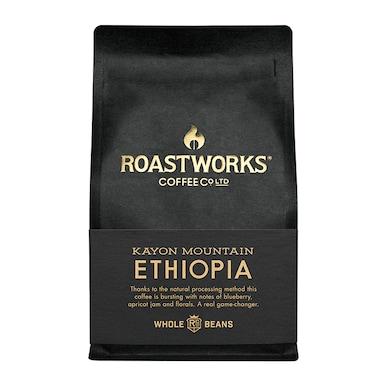 Roastworks Coffee Co Ltd. Ethiopia Natural Whole Beans 200g
