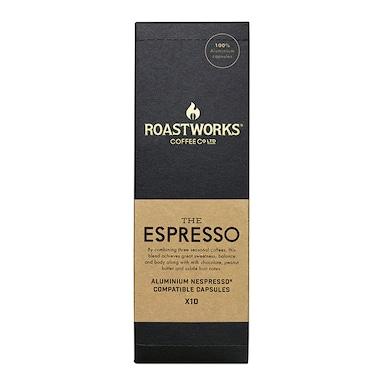 Roastworks Coffee Co Ltd. The Espresso Nespresso Compatible Capsules 55g