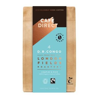 Cafédirect Congo Organic Coffee Beans 200g