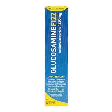 Holland & Barrett Glucosamine 1350mg 15 Effervescent Tablets