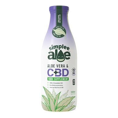 Simplee Aloe Aloe Vera Juice with CBD 500ml