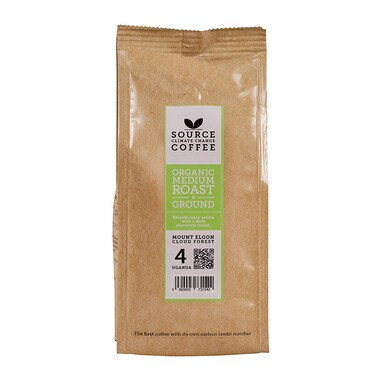 Source Climate Change Coffee Uganda Roast & Ground 227g