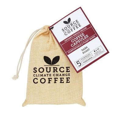 Source Climate Change Coffee Kilimanjaro Coffee Capsules 10x