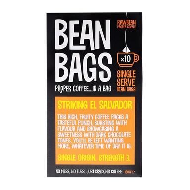 Raw Bean Striking El Salvador Bags 10x
