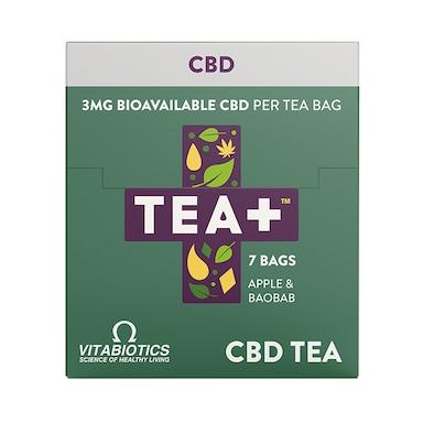TEA + CBD Infused Tea 7 Bags