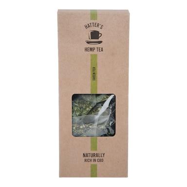 Hatters Hemp Tea Green Tea 20x bags