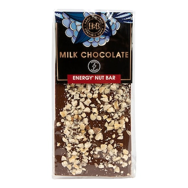 Holland & Barrett Energy Milk Chocolate Nut Bar 112g