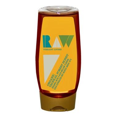 Raw Vibrant Living Organic Brazilian Forest Honey - Squeezy 350g