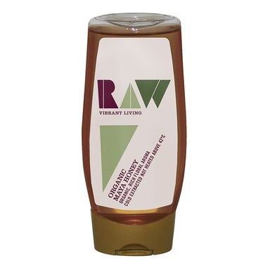 Raw Vibrant Living Raw Maya Honey - Yucatan Mexico 350g