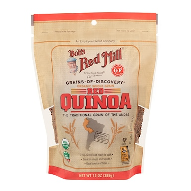 Bobs Red Mill Organic Red Quinoa Grain 369g