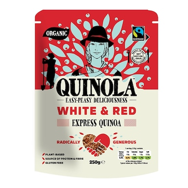 Quinola Organic Express Quinoa - White & Red 250g