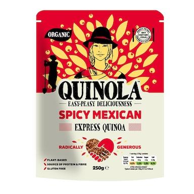 Quinola Organic Express Quinoa - Spicy Mexican 250g
