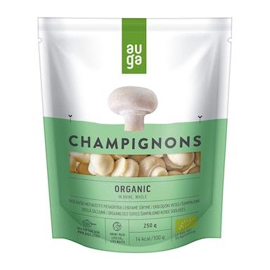 Auga Organic Whole Champignons in Brine 250g