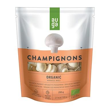 Auga Organic Marinated Whole Champignons 250g