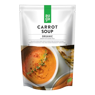 Auga Organic Creamy Carrot Soup With Coconut Milk 400g