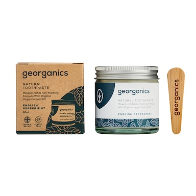 Georganics Mineral-rich Toothpaste - English Peppermint 60ml