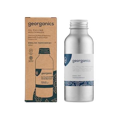 Georganics Oilpulling Mouthwash - English Peppermint 100ml