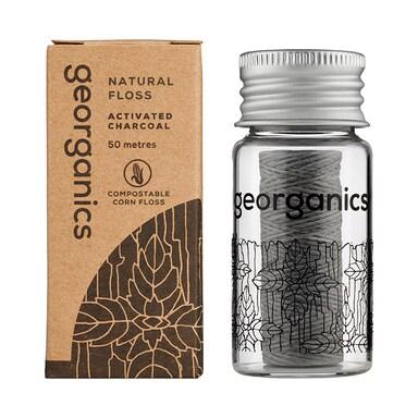 Georganics Natural Floss - Charcoal