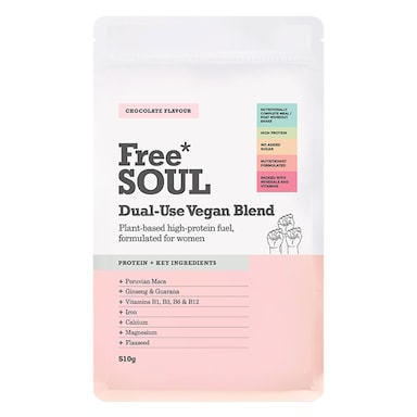 Free Soul Dual Use Blend Vegan Chocolate 510g