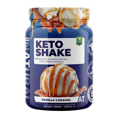 About Time Keto Shake Vanilla Caramel 493.2g