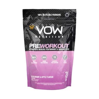 Vow Nutrition Pre Workout Blackcurrant & Apple 500g