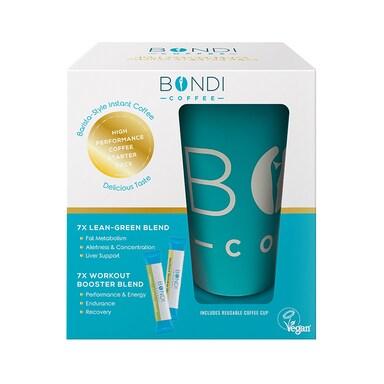 Bondi Coffee Workout Booster Blend & Lean Green Blend 14x5 (70g)