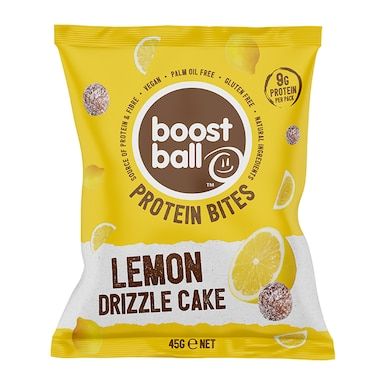 Boostball Protein Bites Lemon Drizzle Cake 45g