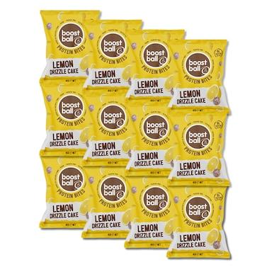 Boostball Protein Bites Lemon Drizzle Cake 12 x 45g