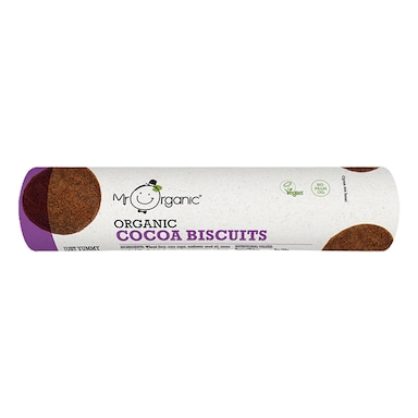 Mr Organic Cocoa Biscuits 250g