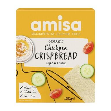 Amisa Chickpea Crispbread 100g
