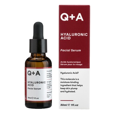 Q+A Hyaluronic Acid Facial Serum 30ml