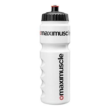 MaxiMuscle Bio Water Bottle White 750ml
