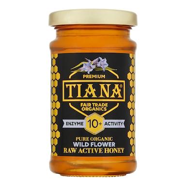 TIANA Organic Raw Active Wild Flower Honey 250g