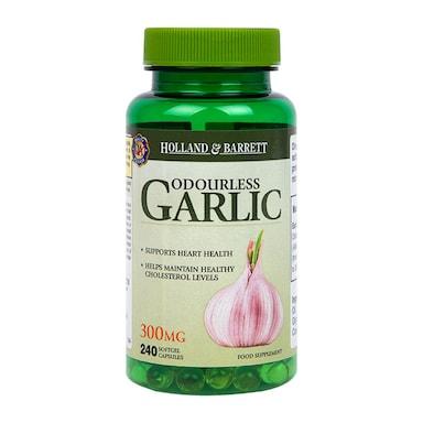 Holland & Barrett Odourless Garlic 300mg 240 Capsules