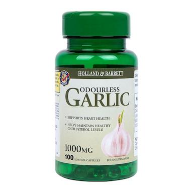 Holland & Barrett Odourless Garlic 1000mg 100 Capsules